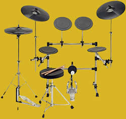 non electric practice drums