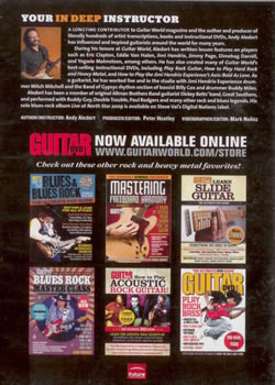 almost identical back cover with same guitar teacher